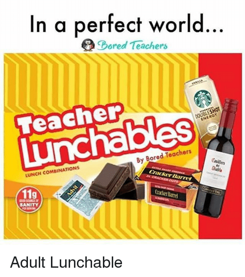 25 Best Memes About Adult Lunchable Adult Lunchable Memes