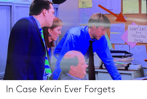 The Office: In Case Kevin Ever Forgets