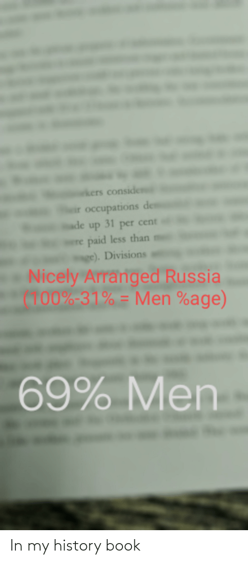 Book: In my history book