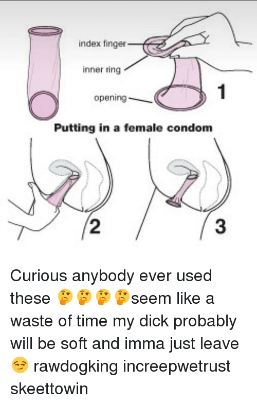 Condom, Memes, and 🤖: index finger inner ring opening Putting in a female