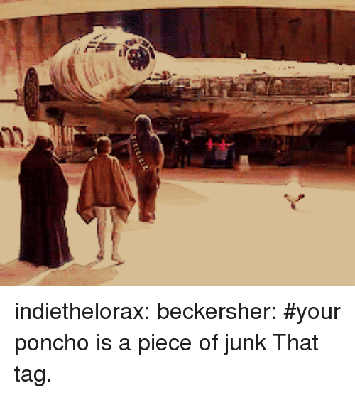 Indiethelorax Beckersher #Your Poncho Is a Piece of Junk