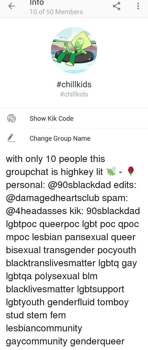 There bisexual chat names