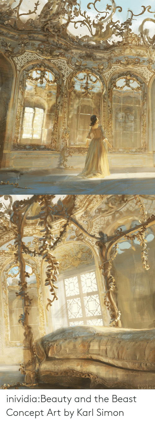 Beauty and the Beast: inividia:Beauty and the Beast Concept Art by Karl Simon