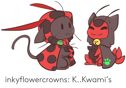 Target, Tumblr, and Blog: inkyflowercrowns:  K..Kwami's