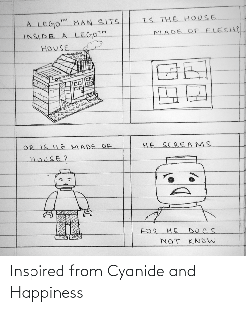 Cyanide and Happiness: Inspired from Cyanide and Happiness