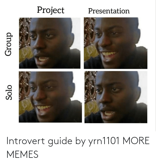 guide: Introvert guide by yrn1101 MORE MEMES