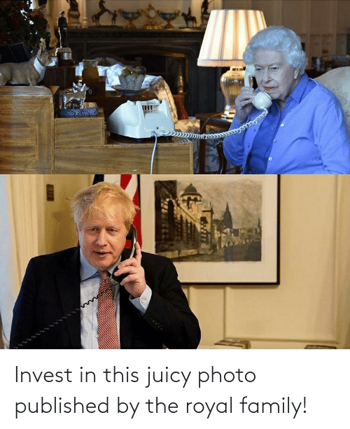 Royal family: Invest in this juicy photo published by the royal family!
