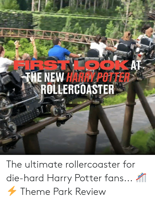 die hard: IRSTKOOKAT  THE NEW HARPY POTTER  ROLLERCOASTER The ultimate rollercoaster for die-hard Harry Potter fans... 🎢⚡  Theme Park Review