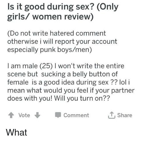 women only good for sex