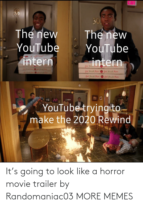 Movie: It's going to look like a horror movie trailer by Randomaniac03 MORE MEMES