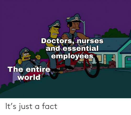 Just A: It's just a fact