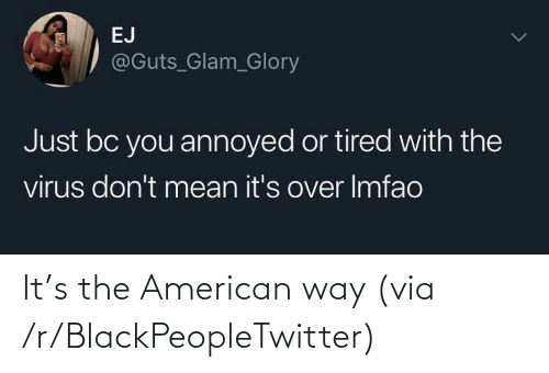 R Blackpeopletwitter: It's the American way (via /r/BlackPeopleTwitter)