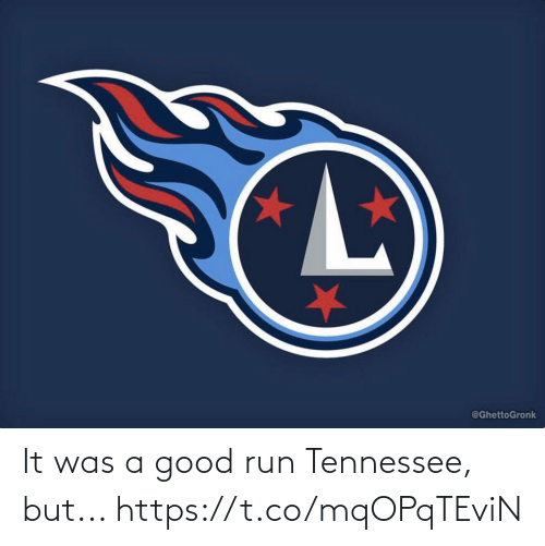 It Was A: It was a good run Tennessee, but... https://t.co/mqOPqTEviN