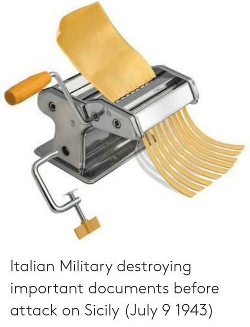 sicily: Italian Military destroying important documents before attack on Sicily (July 9 1943)