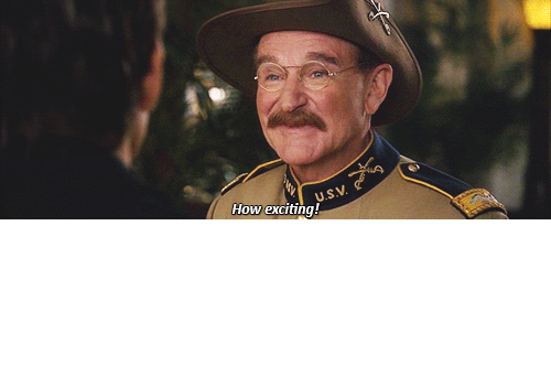 robin: ithelpstodream: One of Robin Williams's last lines as an actor.