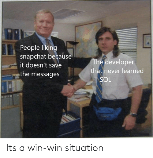 win: Its a win-win situation