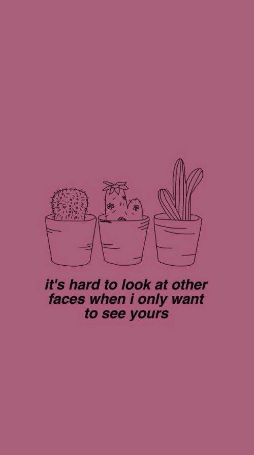 Its Hard: it's hard to look at other  faces when i only want  to see yours