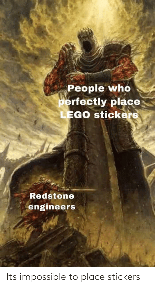 impossible: Its impossible to place stickers