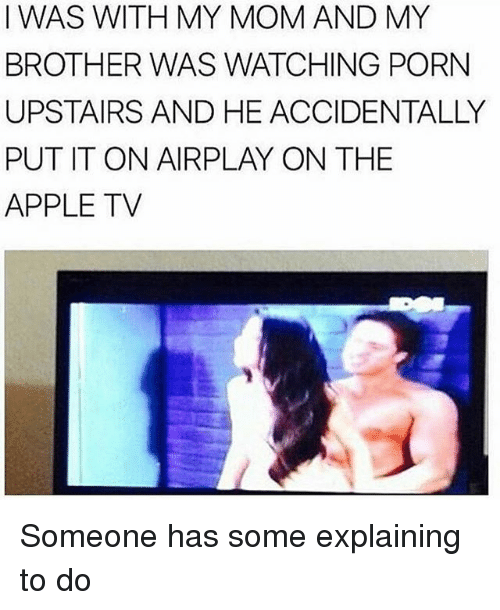 Watching My Brother Fuck