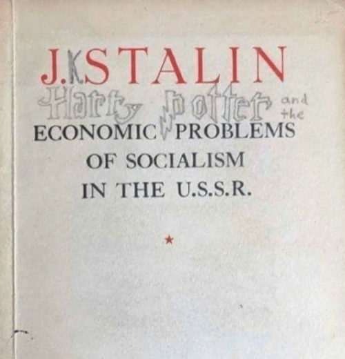 Socialism: J.KS TALIN  Hatty otiet  ECONOMICWPROBLEMS  and  +he  OF SOCIALISM  IN THE U.S.S.R.