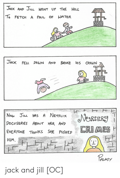 Jack, Jack and Jill, and And: jack and jill [OC]