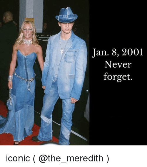 Meredith: Jan. 8, 2001  Never  forget. iconic ( @the_meredith )
