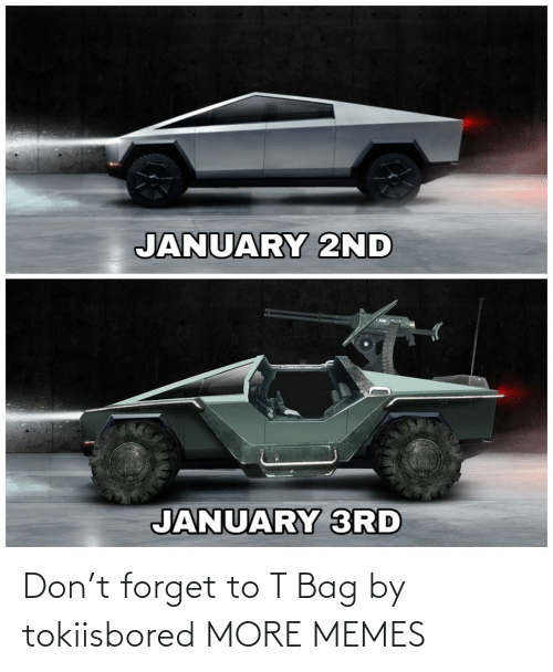 bag: JANUARY 2ND  JANUARY 3RD Don't forget to T Bag by tokiisbored MORE MEMES