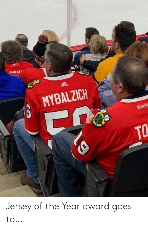 year: Jersey of the Year award goes to…