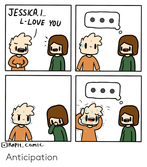 Jessica: JESSICA,  L-LOVE YOU  L.  RAPH_ComIc Anticipation
