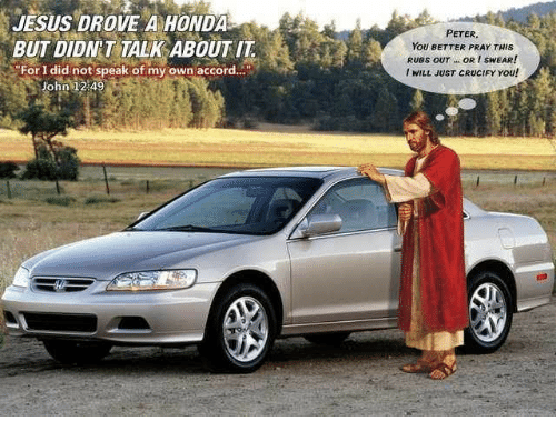 Honda And Accord Drove A But Didnt Talk About It