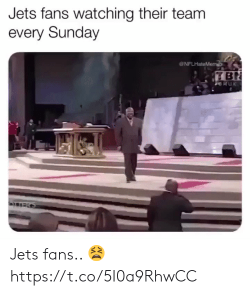 ballmemes.com: Jets fans watching their team  every Sunday  NFLHateMemes  TBN Jets fans.. ? https://t.co/5I0a9RhwCC