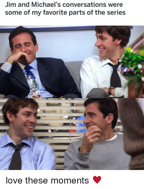 Love, Memes, and 🤖: Jim and Michael's conversations were  some of my favorite parts of the series love these moments ♥️
