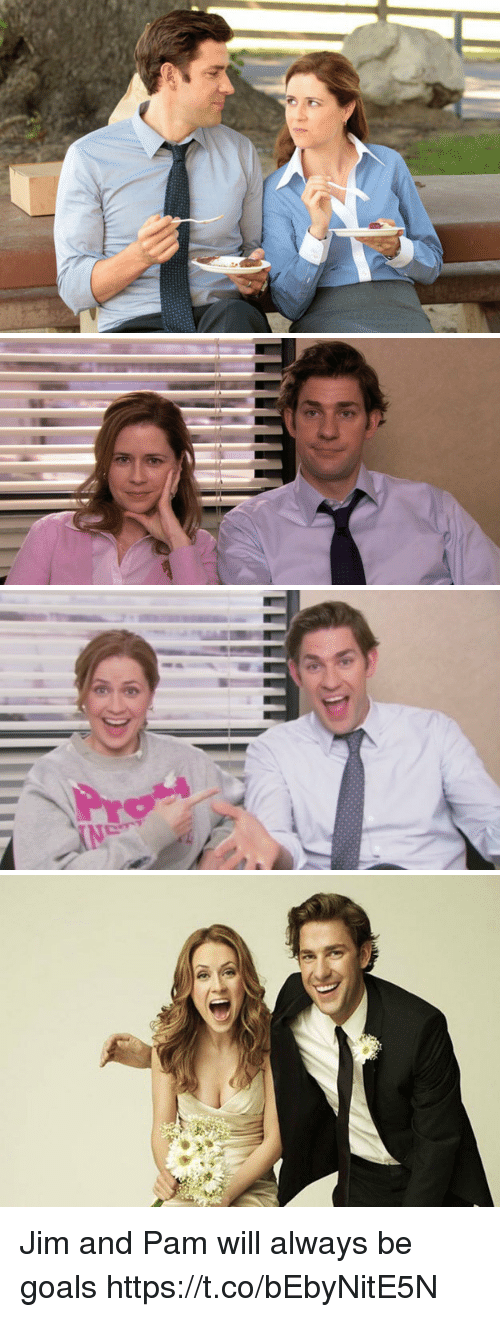 coeds: Jim and Pam will always be goals https://t.co/bEbyNitE5N