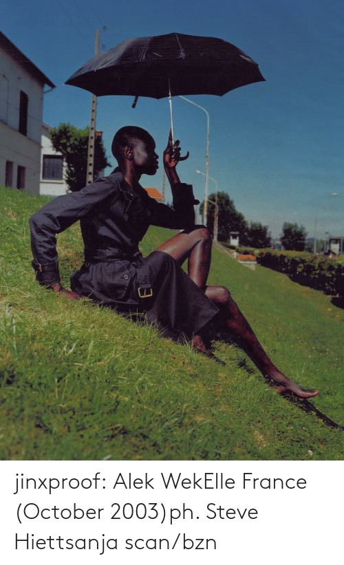 steve: jinxproof: Alek WekElle France (October 2003)ph. Steve Hiettsanja scan/bzn