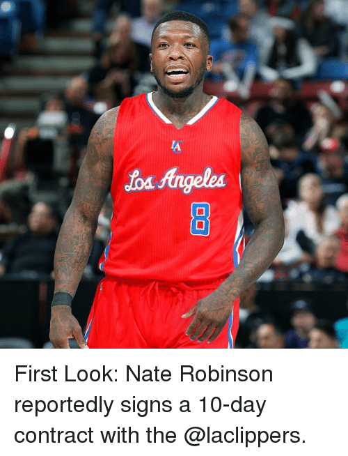 Nate Robinson: Jod fingelea First Look: Nate Robinson reportedly signs a 10-day contract with the @laclippers.
