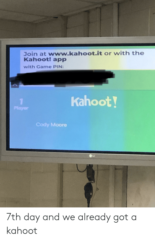 Today We Are Going to Play Kahoot Your Nickname Is