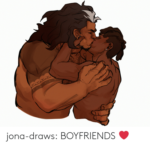 Tumblr, Blog, and Com: jona-draws:    BOYFRIENDS ❤️