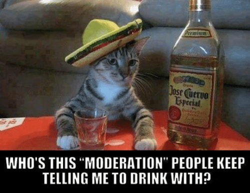 """Moderation: Jose cuerve  ESpecial  WHO'S THIS """"MODERATION"""" PEOPLE KEEP  TELLING ME TO DRINK WITH?"""