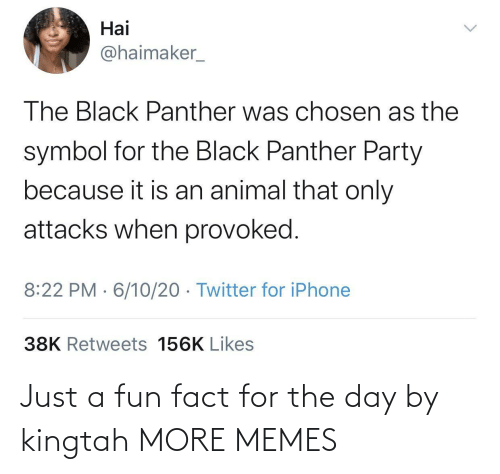 The Day: Just a fun fact for the day by kingtah MORE MEMES
