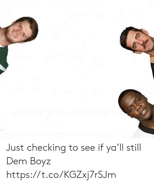 Football, Nfl, and Sports: Just checking to see if ya'll still Dem Boyz https://t.co/KGZxj7rSJm