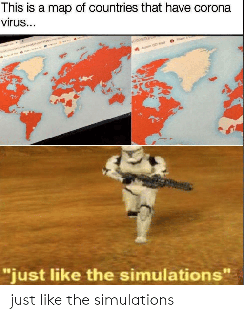 Just Like: just like the simulations