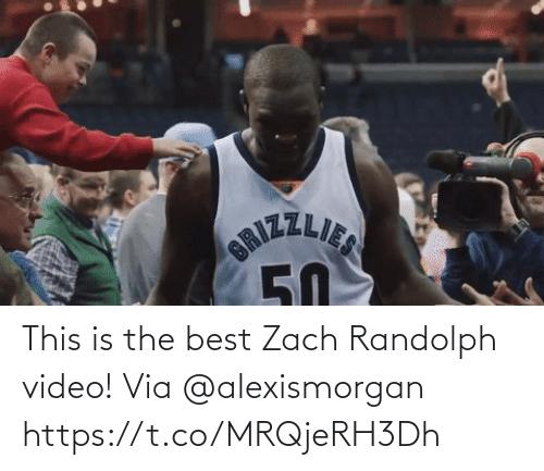 Zach: JZLIE  5D This is the best Zach Randolph video!   Via @alexismorgan  https://t.co/MRQjeRH3Dh