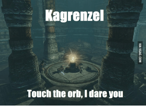 Marry Lydia Skyrim: Kagrenzel  Touch the orb, Idare you