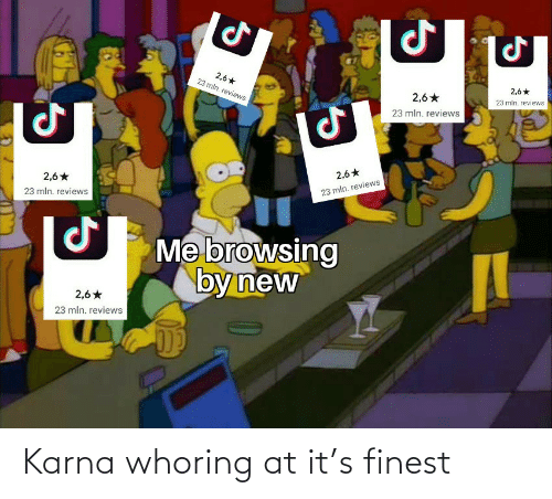 Whoring: Karna whoring at it's finest