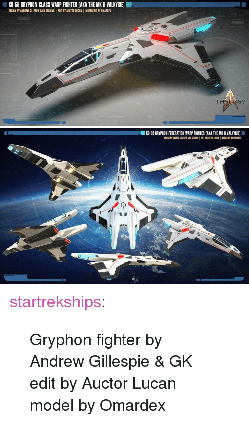 kd 58 gryphon class warp fighter aka the mkii valkyrie design by