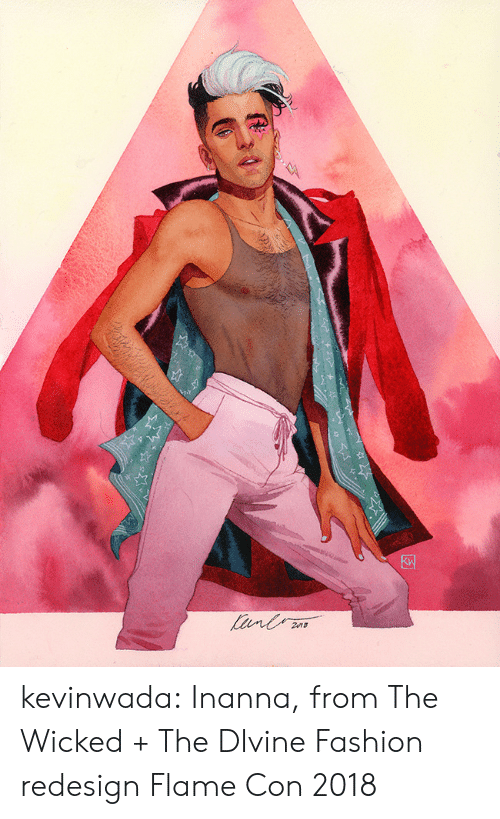 divine: kevinwada:  Inanna, from The Wicked + The DIvineFashion redesignFlame Con 2018