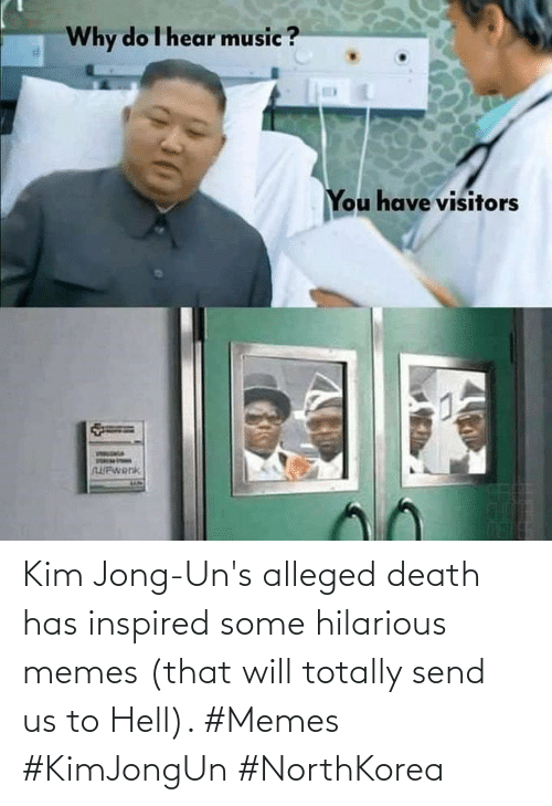 Memes That: Kim Jong-Un's alleged death has inspired some hilarious memes (that will totally send us to Hell). #Memes #KimJongUn #NorthKorea