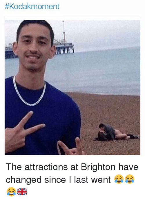 brightons: The attractions at Brighton have changed since I last went 😂😂😂🇬🇧