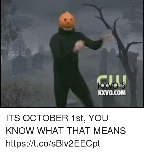 October 1St: KXVO.COM ITS OCTOBER 1st, YOU KNOW WHAT THAT MEANS https://t.co/sBlv2EECpt