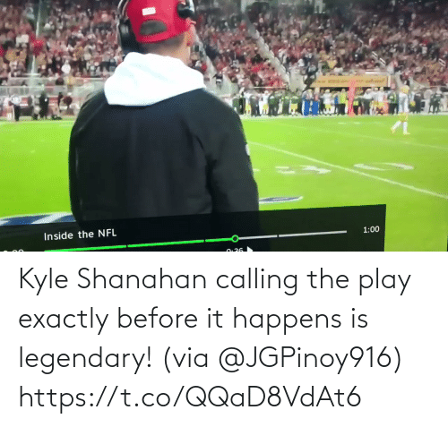 ballmemes.com: Kyle Shanahan calling the play exactly before it happens is legendary! (via @JGPinoy916) https://t.co/QQaD8VdAt6